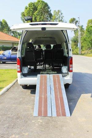 Garden Hills Villa Resort : Disable Friendly Transport