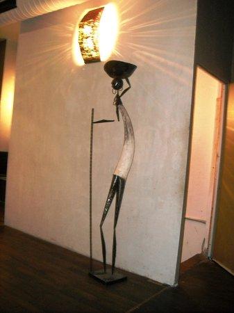 Art inside Injera