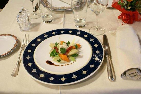 Francois 1er - Chateau de Coudree: Plat gastronomique - Restaurant François 1 er