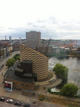 Scandic Copenhagen: view from the room