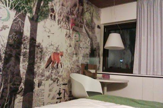 Scandic Copenhagen: room