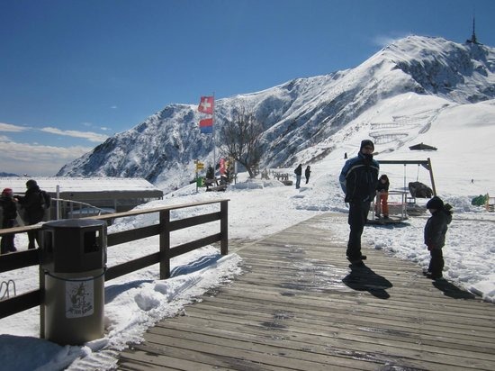 Monte Tamaro: Play Area