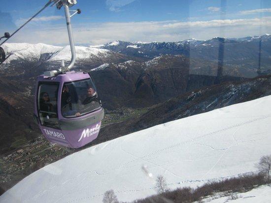Monte Tamaro: Cable Car