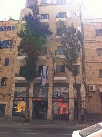 סיטי סנטר מלון דירות ירושלים