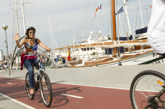 Palma on Bike: along the cycle path...