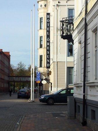 Hotel Oresund: Hotel entrance
