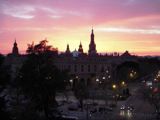 Melia Sevilla: Vista desde la habitación 633