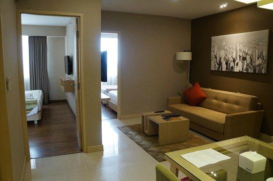 Grand Whiz Kelapa Gading: kamar junior suite