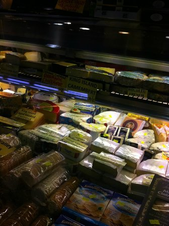 South Melbourne Market : variety types of cheese