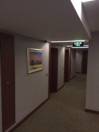 InnPera Hotel : Gang zu den ZImmern