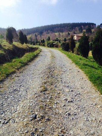 Hotel Lurdeia: camino