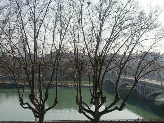 B4 Lyon: la vista sul Rodano