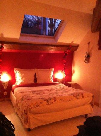 Moulin Chantepierre: chambre Amarante