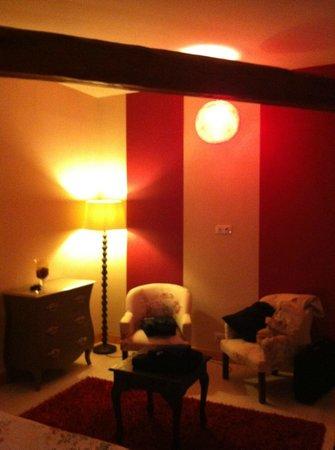 Moulin Chantepierre : chambre Amarante