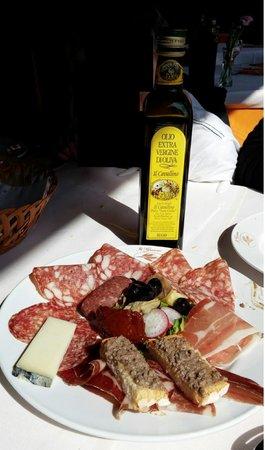 Bolgheri, Italy: antipasto toscano