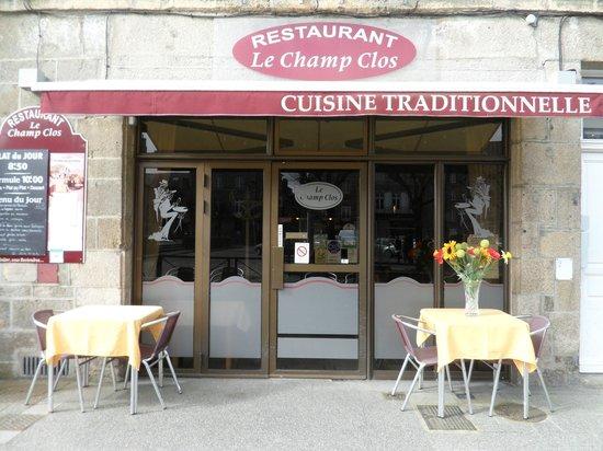 Le Champ Clos: restaurant traditionnel