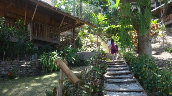 Bamboo Beach Resort: (on the left) Duplex cottage, ideally for couples