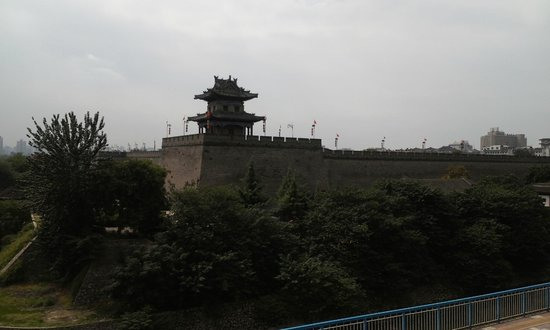 Xi'an City Wall (Chengqiang): 명대성벽