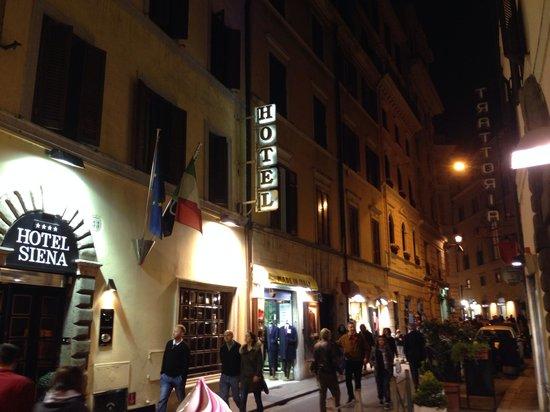 Hotel Siena: Foto hotel