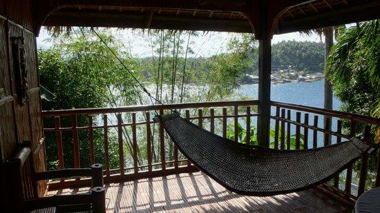 bamboo beach resort  family suite veranda with the hammock family suite veranda with the hammock   picture of bamboo beach      rh   tripadvisor   ph