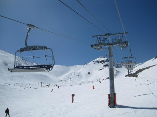 Circuit Cyclotourisme 10: Vallnord Arinsal : On the chair lift