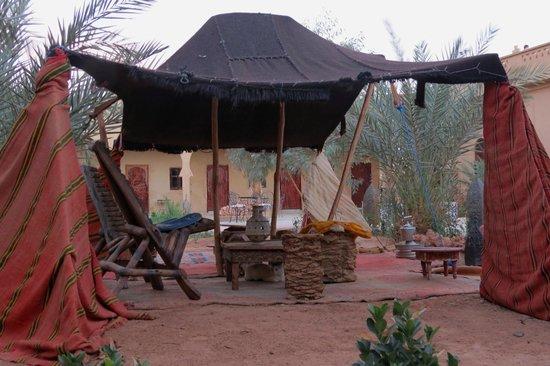 Hotel Nomad Palace: Uno de tantos rinconcitos.