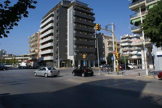 Rotonda Hotel: Не в самом центре Салоник, но весьма достойный, чистый, бюджетный отель