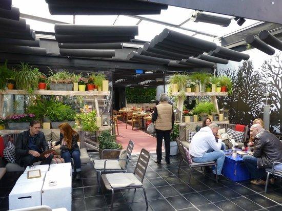 San Anton Market: Dachterrassen Restaurant