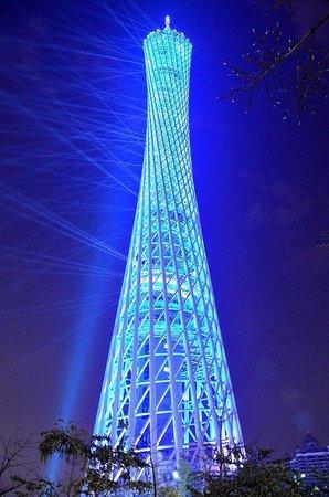 Canton Tower : Вид на башню