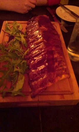 The Fatted Calf Restaurant : Sticky ribs to share
