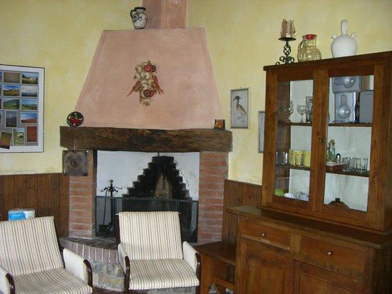 Torre Canvalle : il soggiorno