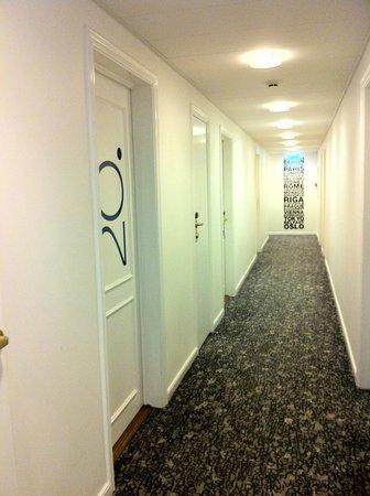 Andersen Boutique Hotel: Hallway at Andersen Hotel