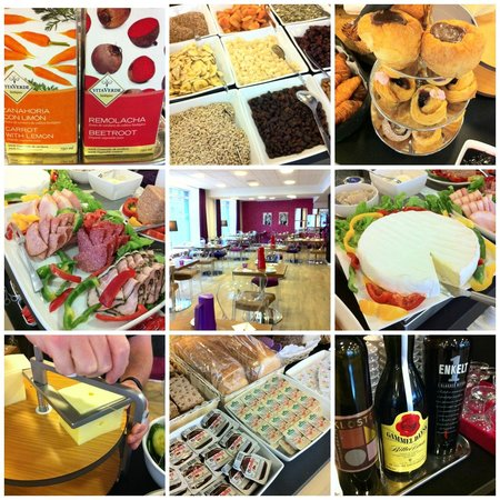 Andersen Boutique Hotel: Some of the choices on the breakfast buffet