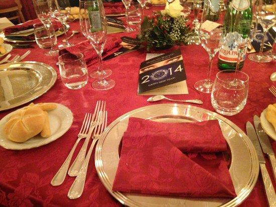 Miramonti Majestic Grand Hotel: posto tavola al ristorante dell'albergo
