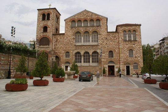 Church of Agios Dimitrios : Базилика Святого Димитрия