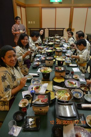 Zao Onsen Outdoor Hot Spring: Amazing Food