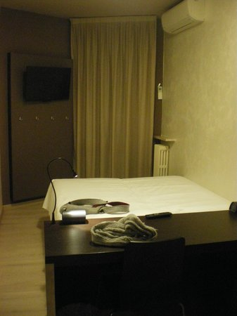 Hotel M14: Particolare camera