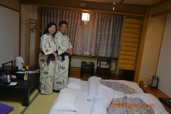 Zao Onsen Outdoor Hot Spring: Rooms