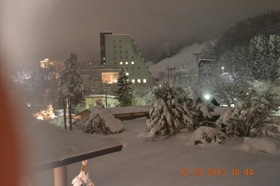Zao Onsen Outdoor Hot Spring: Skiing area