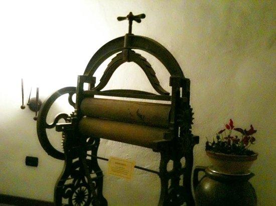 Hotel Abetone Piramidi: Un vecchio Mangano