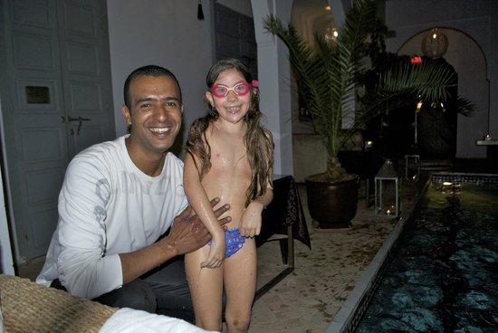 Riad Utopia Suites & Spa : smile!!!!!!!!