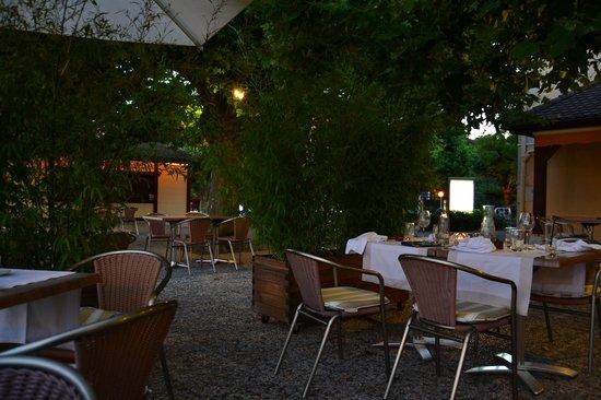 Pavillon du Golf: la terraza