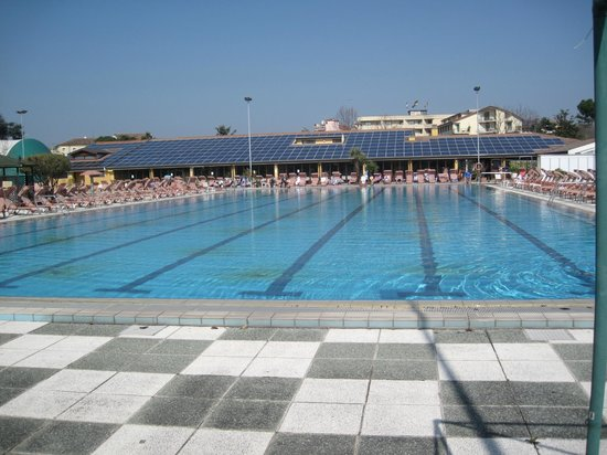 Petrarca Hotel Terme: Олимпийский бассейн