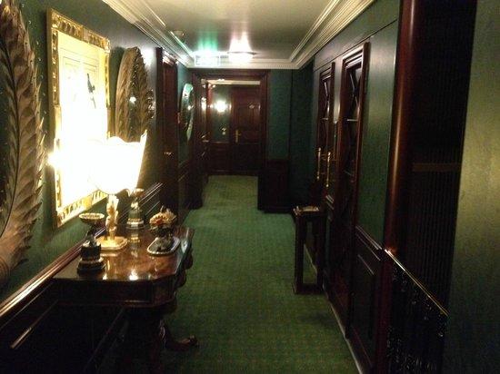 Hotel d'Angleterre: corridoio