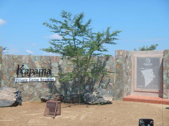 Kapama River Lodge : Ingresso
