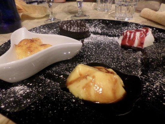 Ristorante Pizzeria Boccaccio Life: Misto dolci
