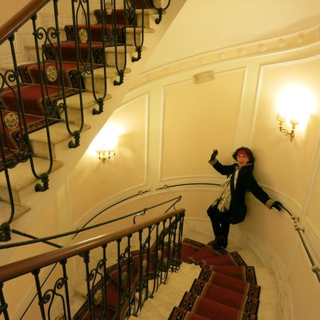 Albergo del Senato: Beautiful Hotel Staircase