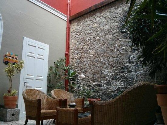 La Casa De Vegueta: Living room