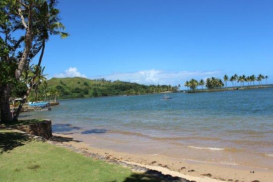 Naviti Resort: View from naviti beach