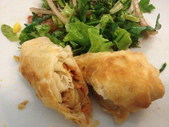 Kefal Restaurant: Karidesli börek